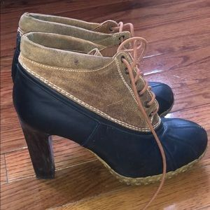 Tommy Hilfiger collection Heel duck boots